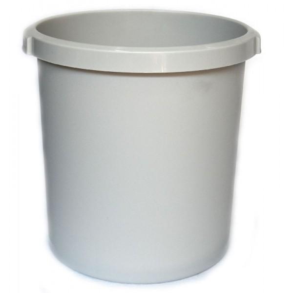 Καλάθι αχρήστων πλαστικό χωρητικότητας 18lt άσπρο