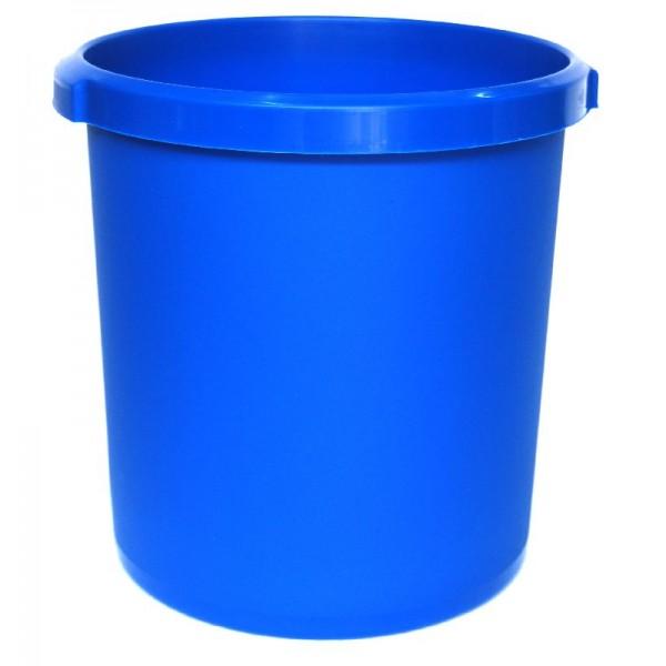 Καλάθι αχρήστων πλαστικό χωρητικότητας 18lt μπλε
