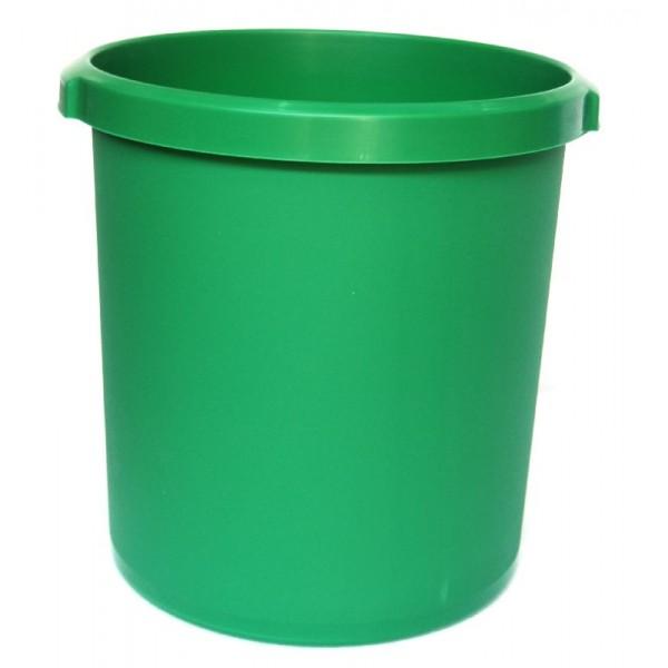 Καλάθι αχρήστων πλαστικό χωρητικότητας 18lt πράσινο